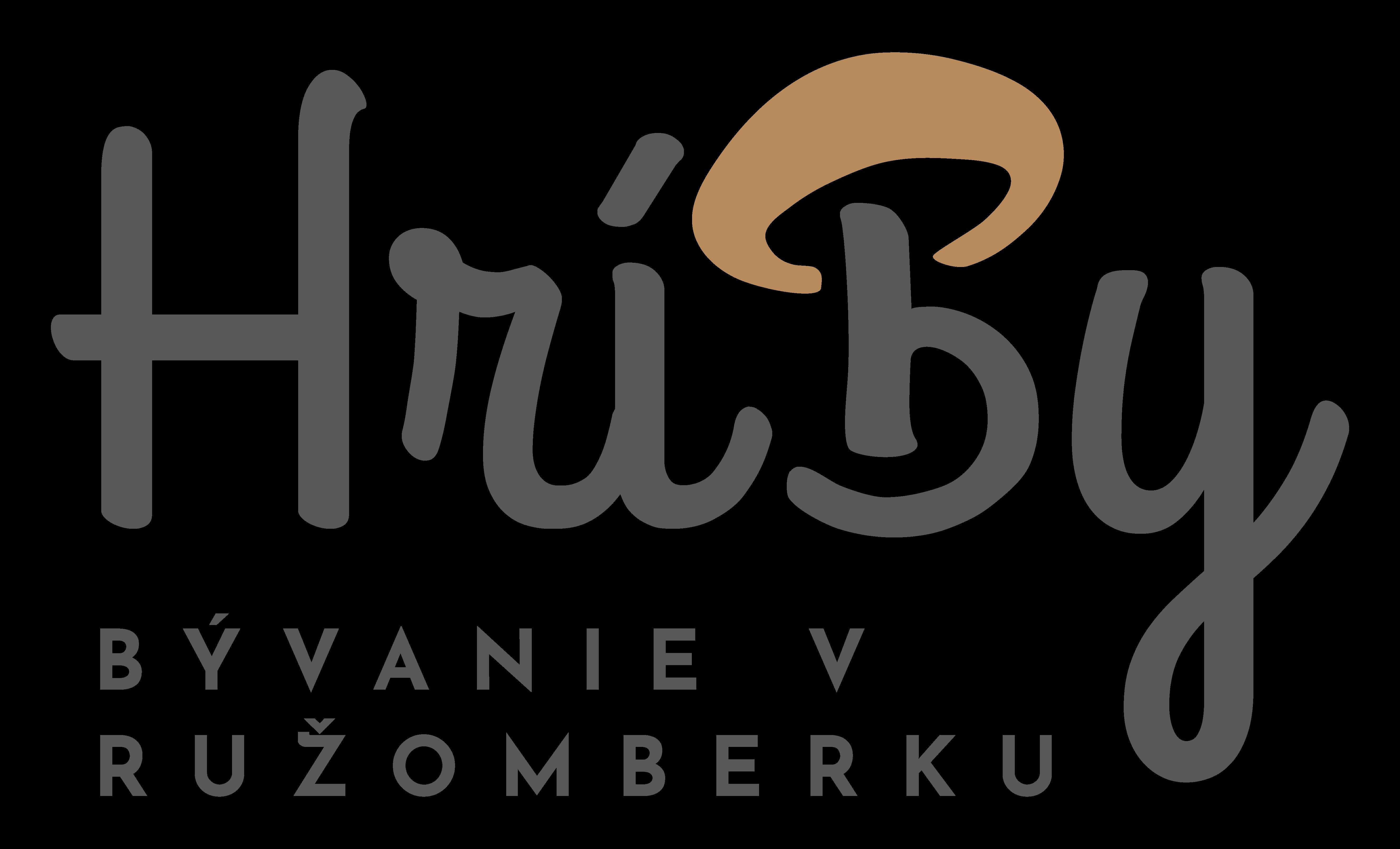 Hríby - bývanie v Ružomberku   Logo